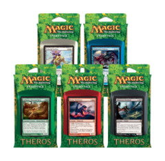 All 5 Theros Intro Packs