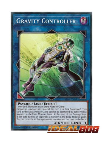 Rainbow Gravity Near Mint Condition YUGIOH Card Mint