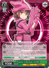 Promise to Be Kept, LLENN [GGO/S59-E002 RR (Mosaic Gloss)] English