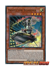 Inspector Boarder - DUDE-EN031 - Ultra Rare - 1st Edition