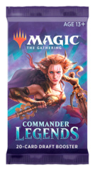 Commander Legends Draft Booster Pack [20 Cards]