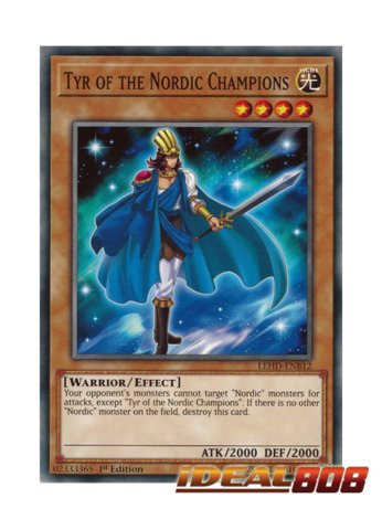 Tyr of the Nordic Champions - LEHD-ENB12 - Common - 1st Edition