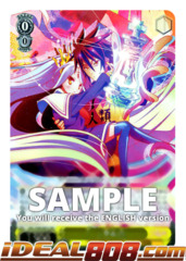 BLANK, Sora & Shiro [NGL/S58-E001S SR (FOIL)] English