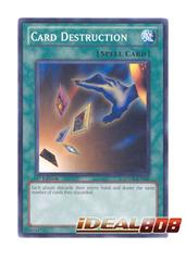 Card Destruction - SDDL-EN030 - Common - 1st Edition