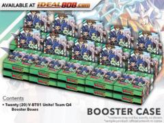 CFV-V-BT01 Unite! Team Q4 (English) Cardfight Vanguard V-Booster  Case [20 Boxes] * PRE-ORDER Ships Jun.22