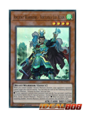 Ancient Warriors - Virtuous Liu Xuan - IGAS-EN011 - Ultra Rare - 1st Edition
