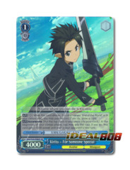Kirito - For Someone Special [SAO/S20-E080S SR (Foil)] English