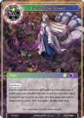 Curse of the Kyuubi [LEL-049 R (Textured Foil)] English
