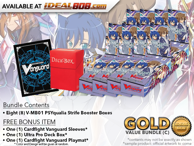 CFV-V-MB01  BUNDLE (C) Gold - Get x8 PSYqualia Strife Mini Booster Box + FREE Bonus Items