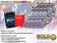 CFV-V-MB01  BUNDLE (C) Gold - Get x8 PSYqualia Strife Mini Booster Box + FREE Bonus Items * PRE-ORDER Ships Nov.09