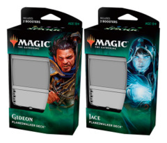 War of the Spark Planeswalker Deck  Set [Both Decks]
