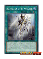 Restoration of the Monarchs - FLOD-EN061 - Common - 1st Edition