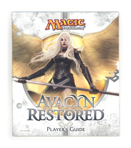 Magic the Gathering Player's Guide w/Checklist - Avacyn Restored