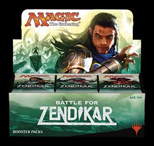 Battle for Zendikar (BFZ) Booster Box