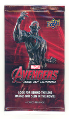 Upper Deck Marvel: Avengers: Age of Ultron Trading Card Pack (Contains 4 cards)