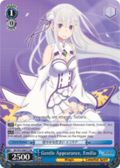 Gentle Appearance, Emilia [RZ/S55-E067S SR (FOIL)] English