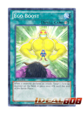 Ego Boost - BP02-EN164 - Mosaic Rare - 1st