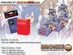 CFV-V-MB01  BUNDLE (A) Bronze - Get x2 PSYqualia Strife Mini Booster Box + FREE Bonus Items * PRE-ORDER Ships Nov.09