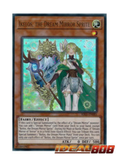 Ikelos, the Dream Mirror Sprite - RIRA-EN085 - Ultra Rare - Unlimited Edition