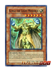 Kuraz the Light Monarch - LODT-ENSE1 - Super Rare - Limited Edition