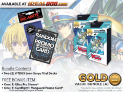 CFV-V-TD03  BUNDLE (A) Bronze - Get x2 Leon Soryu Trial Decks + FREE Bonus Items
