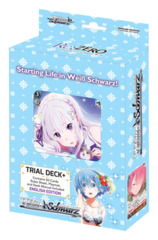 Re:ZERO -Starting Life in Another World- (English) Weiss Schwarz Trial Deck+ * PRE-ORDER Ships Dec.21