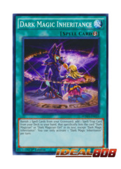 Dark Magic Inheritance - SDMY-EN025 - Common - 1st Edition