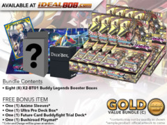 BFE-X2-BT01 Bundle (C) Gold - Get x8 Buddy Legends Booster Box + FREE Bonus Items