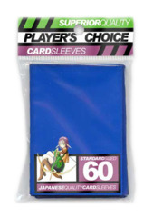 Player's Choice Standard Card Sleeves - Blue