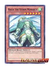 Raiza the Storm Monarch - BP01-EN015 - Starfoil Rare - 1st Edition