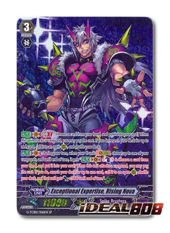 Exceptional Expertise, Rising Nova - G-TCB01/S06EN - SP
