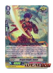 Dragon Knight, Jannat - G-BT03/014EN - RR