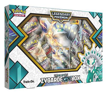 Shiny Zygarde GX Box