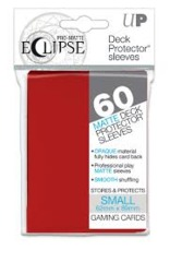 Ultra Pro Matte Eclipse Small Sleeves 60ct - Apple Red [#85830]