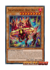 Salamangreat Beat Bison - SDSB-EN006 - Common - 1st Edition