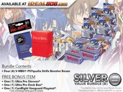 CFV-V-MB01  BUNDLE (B) Silver - Get x4 PSYqualia Strife Mini Booster Box + FREE Bonus Items * PRE-ORDER Ships Nov.09