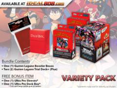 Weiss Schwarz GL Variety Pack - Get x1 GURREN LAGANN Booster Box & x2 Trial Deck+(Plus) & FREE Bonus * PRE-ORDER Ships Jul.5