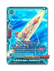 Radiant Saber, Providence [H-BT04/0020EN RR (FOIL)] English