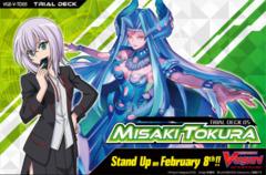 CFV-V-TD05 Misaki Tokura (English) V-Trial  Deck Box [Contains 6 Decks] * PRE-ORDER Ships Feb.08