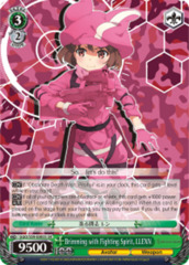 Brimming with Fighting Spirit, LLENN [GGO/S59-E003S SR (FOIL)] English