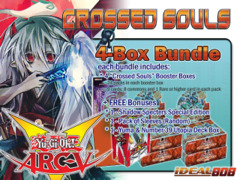 Yugioh CROS Bundle (B) - Get x4 Crossed Souls Booster Boxes + FREE Bonus (See Description)