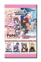 Fate/kaleid liner PRISMA ILLYA DX ver.E (English) Weiss Schwarz Booster Pack