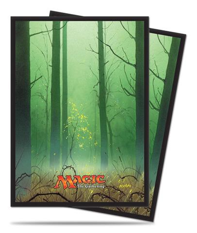 Magic the Gathering MANA 5 Unhinged Forest Ultra Pro Sleeve 80ct. (#86458)