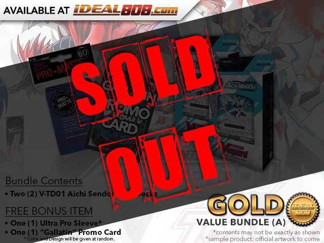 CFV-V-TD01  BUNDLE (A) Bronze - Get x2 Aichi Sendou Trial Decks + FREE Bonus Items