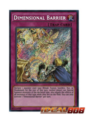 Dimensional Barrier - INOV-EN078 - Secret Rare - Unlimited Edition