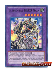 Elemental Hero Gaia - CT08-EN011 - Super Rare - Limited Edition