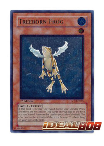 Treeborn Frog - SOI-EN025 - Ultimate Rare - Unlimited Edition