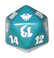 MTG Spindown 20 Life Counter - Dark Ascension (Green)