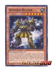 Dododo Buster - LVAL-EN097 - Common - 1st Edition