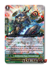 Interdimensional Dragon, Heteroround Dragon - G-CB04/008EN - RR